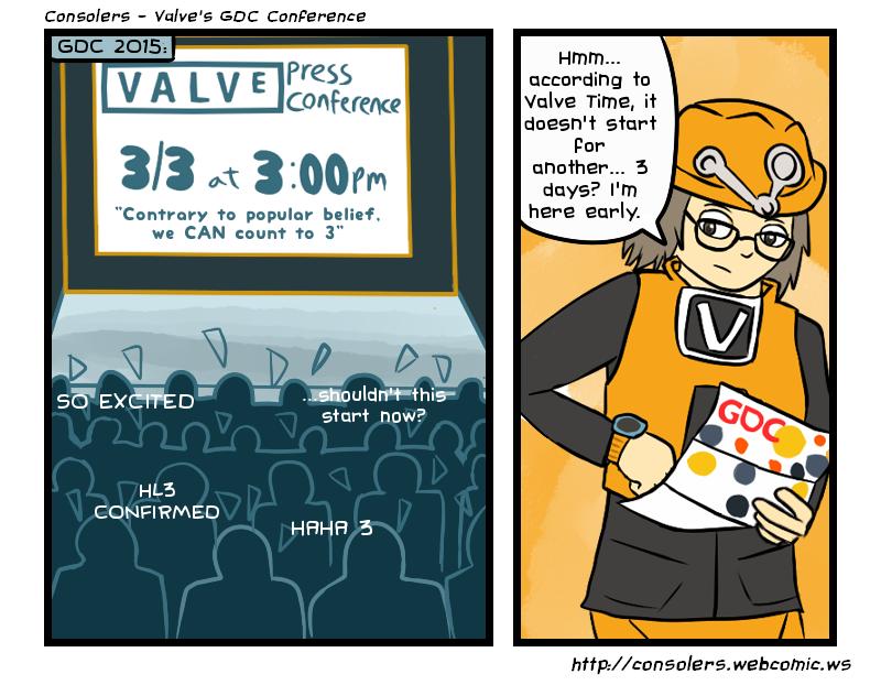 Valve's GDC Conference